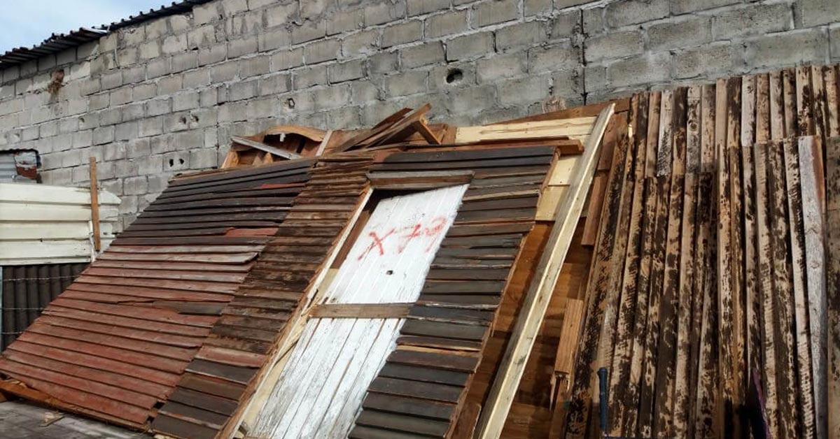 Shack Demolition in Lockdown