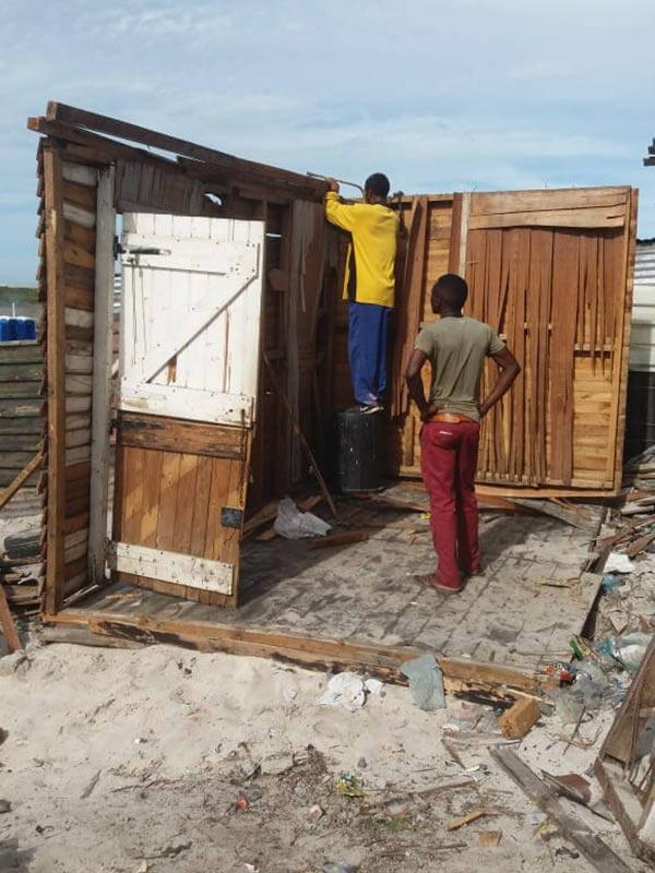 Shack Demolition in Lockdown - Starting Over